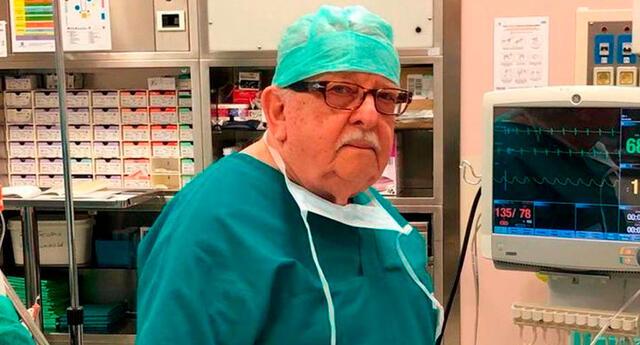Giampiero Giron, el médico de 85 años retoma sus labores para frenar el coronavirus en Italia.