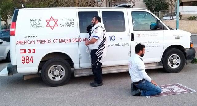 La imagen fue captada por Motty Aflalo en Israel.