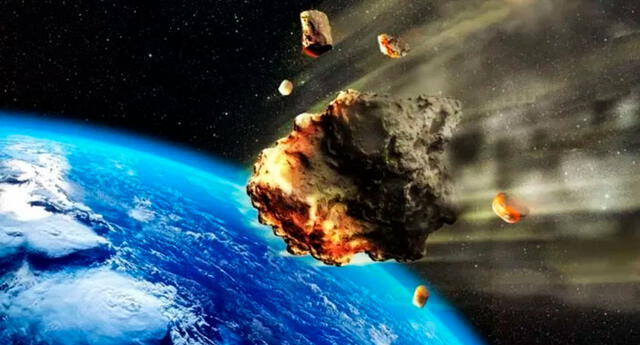 La NASA viene monitoreando los seis asteroides que se dirigen a la Tierra