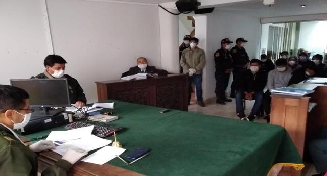 Fuero Militar dictó dos meses de prisión preventiva contra seis policías que no acataron toque de queda