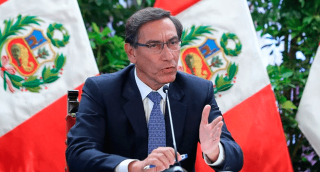 Martín Vizcarra anuncia que se suspenderá aportes a las AFP.