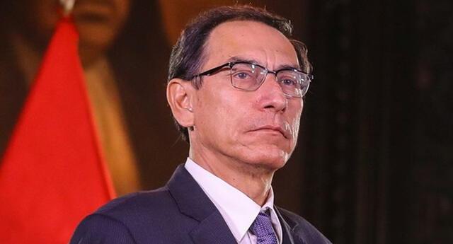 Martín Vizcarra brindó conferencia de prensa.
