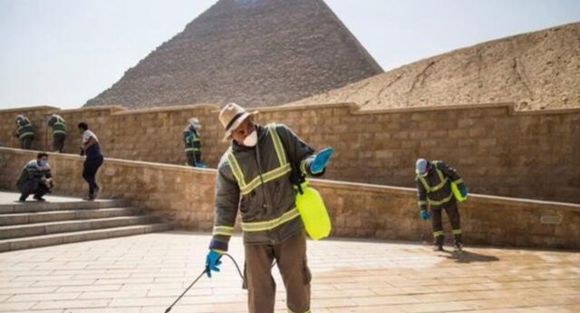 Egipto reportó  450 casos confirmados del covid-19.