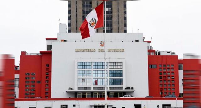 Sede del Ministerio del Interior en San Isidro.