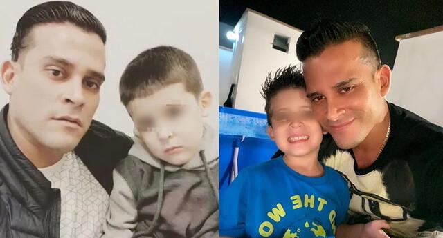 Christian Domínguez celebró cumpleaños de su menor hijo en cuarentena.