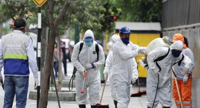 Hasta el momento hay 580 personas infectadas por coronavirus.