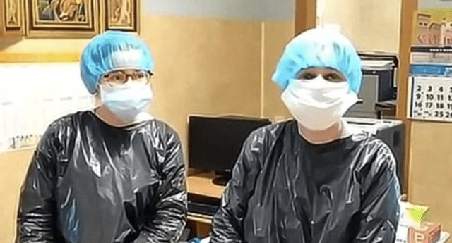 Las féminas indicaron que ellas son las únicas especialistas de la salud que laboran en el asilo.