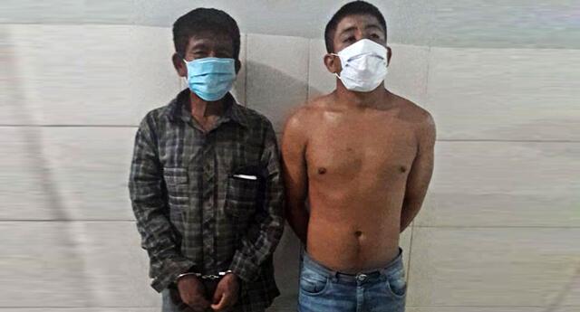 PNP los capturó tras agredir a PNP al no querer acatar el estado de emergencia por la propagación del coronavirus en nuestro país.