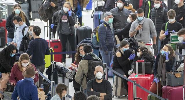 Peruanos piden regresar al país.