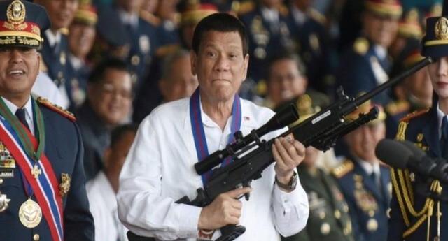 El discurso del mandatario filipino provocó indignación en las redes sociales y piden su renuncia de la presidencia.