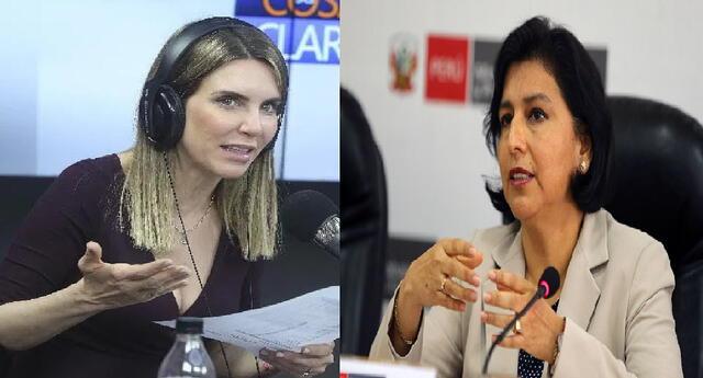 """Juliana Oxenford a Ministra de Trabajo tras carta de Confiep: """"Brilla por su ausencia"""" [FOTO]"""