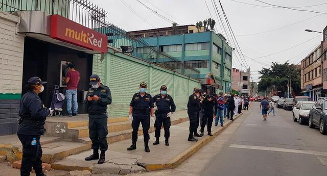 Policías contagiados de COVID-19