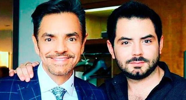 Eugenio Derbez no perdió la oportunidad para decirle a su hijo lo mucho que lo ama.