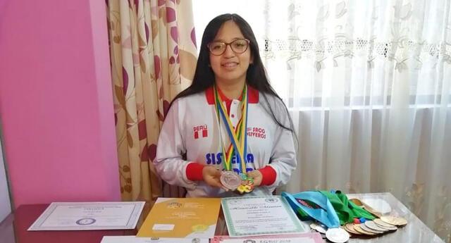 Ella sueña con ser ingeniera biomédica y ayudar a los más pobres.