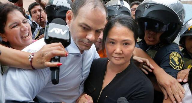 Keiko Fujimori abandonará la cárcel.