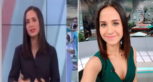 Sigrid Bazán se quiebra en vivo.