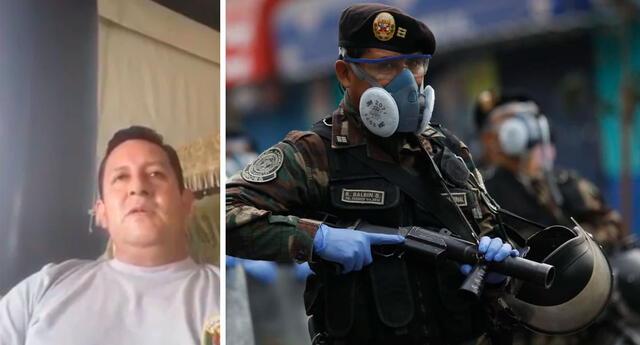 Suboficial asegura que viene recibiendo amenazas de muerte luego de revelar presuntos actos de corrupción en la compra de equipos de protección.