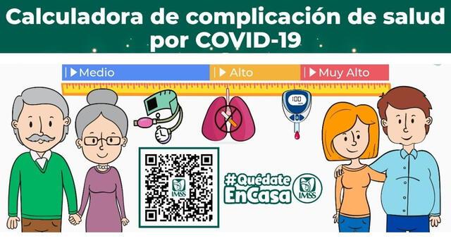 ¿Cómo funciona la calculadora de complicación de salud por COVID -19?