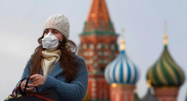 Rusia desplazó a España del segundo lugar en la lista de países más contagiados.