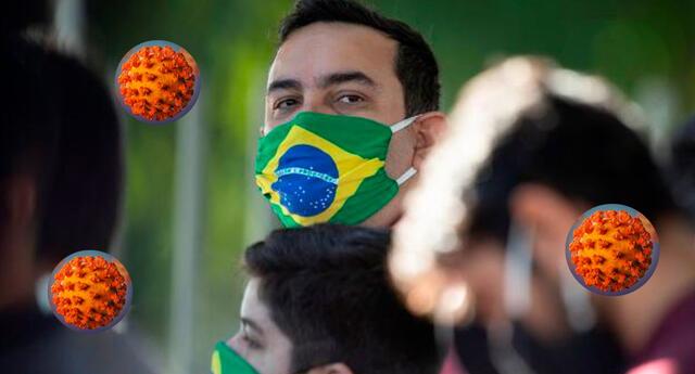 Brasil es el tercer país en todo el mundo con más casos de Covid 19.