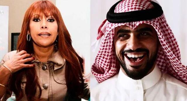 """Magaly Medina a Yaqoob Mubarak: """"Le gusta que los peruanitos estén con manos de limosnero"""""""