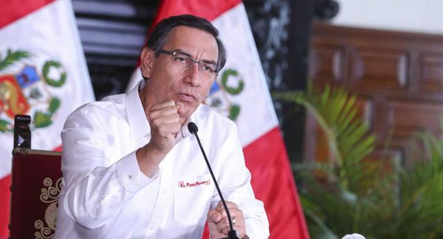 Martín Vizcarra anunció nuevas medidas frente al coronavirus.