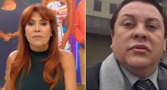 Magaly Medina evidenció que Richard Swing solo habría trabajado en el Ministerio de Cultura.