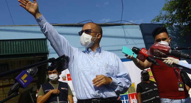 Ministro de Salud anunció el estado de la curva epidemiológica en el país.