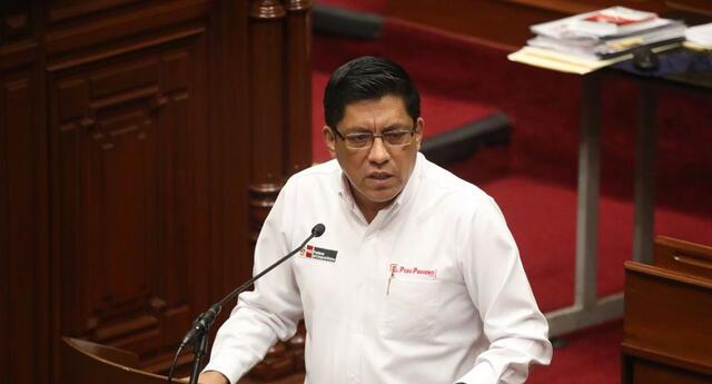 """""""Este Gobierno quiere realizar cambios importantes"""" resaltó Zeballos."""