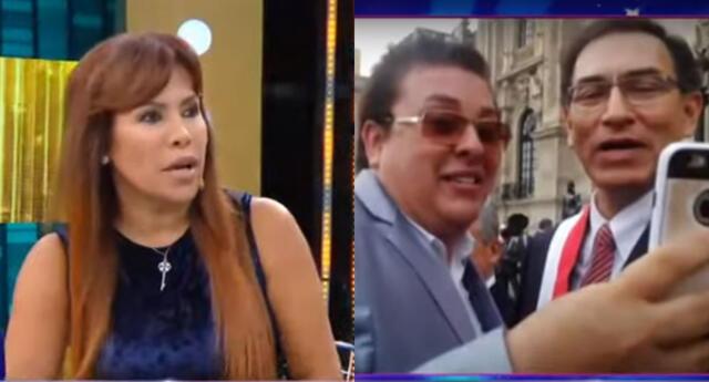 Magaly Medina critica a Richard Swing por haber recibido miles de soles por parte del Estado.