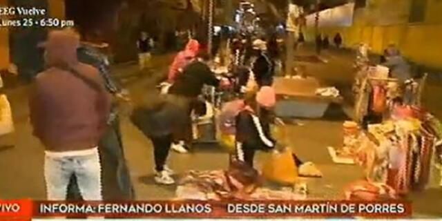 Este grupo de ambulantes afirman que no han recibido ningún bono del Estado para afrontar mejor esta cuarentena.