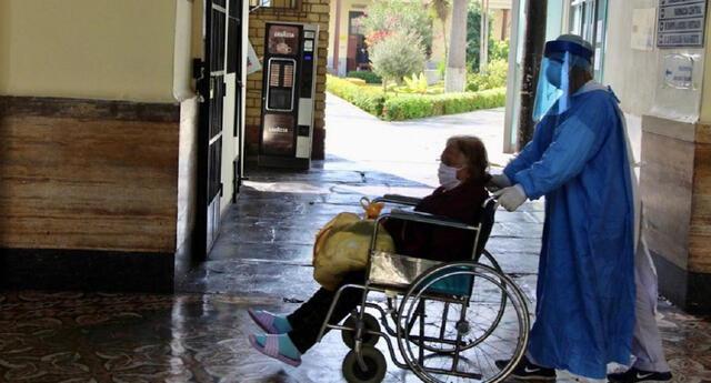 Anciana se había contagiado cuando acudió a un mercado a comprar.