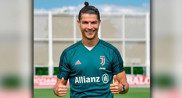 Cristiano Ronaldo dio que hablar con su entrenamiento.