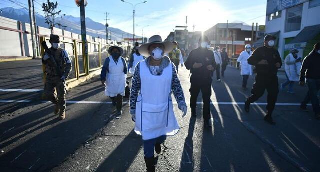 El Mercado Río Seco  de Arequipa estuvo clausurado por 22 días.