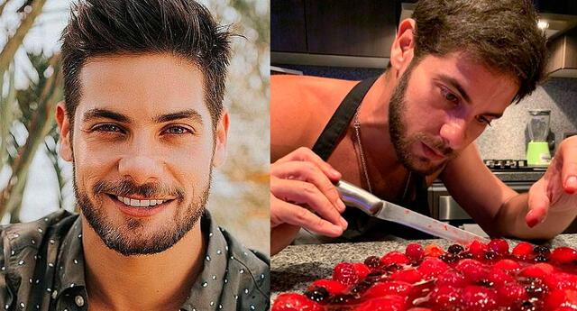 Andrés Wiese declara su amor por la cocina.