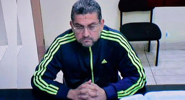 El ex juez del Callao, Walter Ríos Montalvo pide cesar su prisión preventiva.