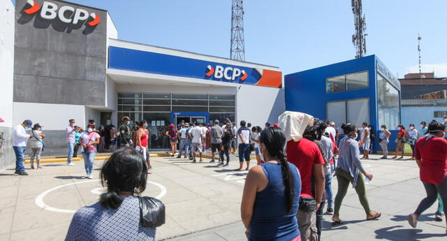 El BCP será una de las empresas bancarias donde se podrá cobrar el bono de 380 nuevos soles.