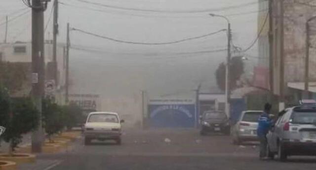 Fuertes vientos en las costas peruanas