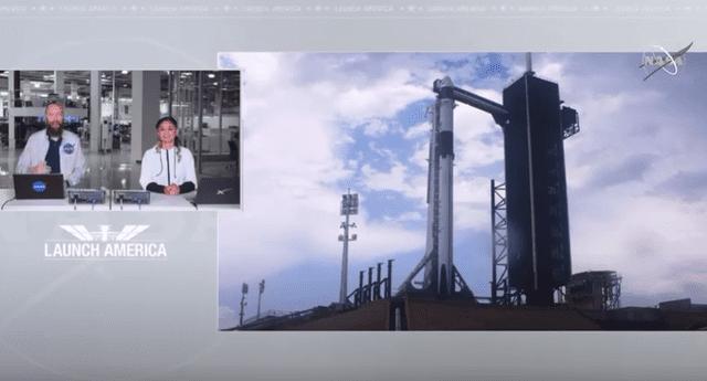 Lanzamiento SpaceX y Nasa: ver EN VIVO vía NASA TV live streaming