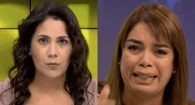 """Andrea Llosa sobre relación con la periodista Milagros Leiva: """"Me cae bien"""""""