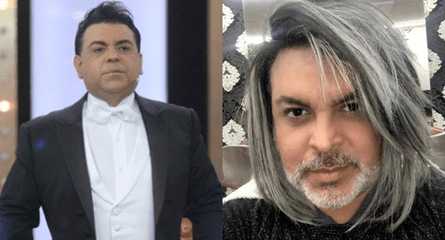 Andrés Hurtado se enojó al ser troleado por su nuevo look.