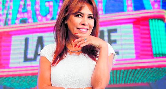 Magaly Medina se divierte en TikTok.