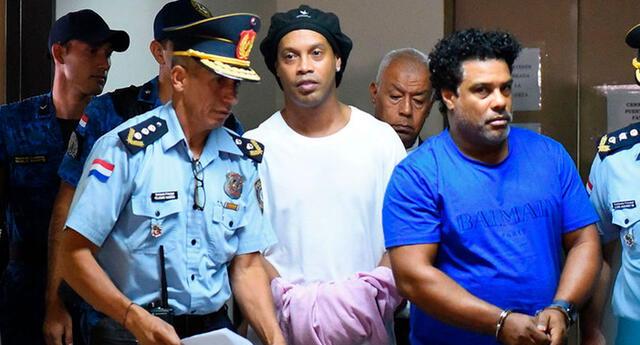 Ronaldinho está detenido en Paraguay desde el mes de marzo.