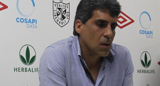 Álvaro Barco también fue multado con el pago de 3 UIT (S/ 12.900).