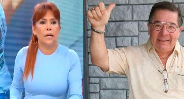 Magaly Medina critica a Efraín Aguilar.