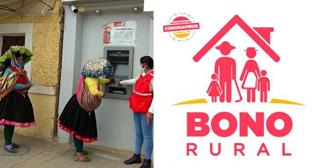 Bono rural link consulta aquí cómo saber si soy beneficiario del bono 760 y cómo cobrar subsidio con DNI