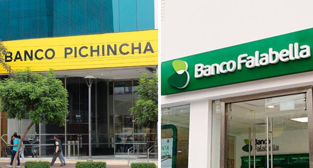 Banco Pichincha y Banco Falabella