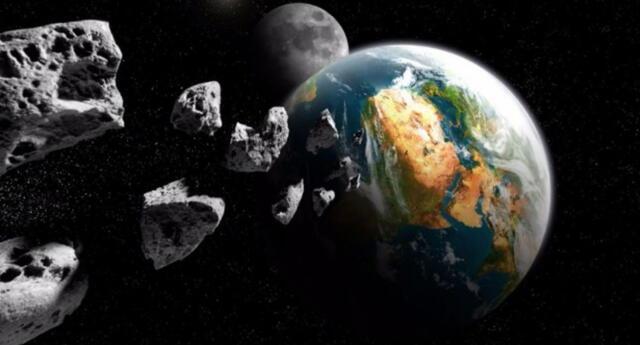 La NASA muestra preocupación por una nueva serie de cuerpos rocosos.