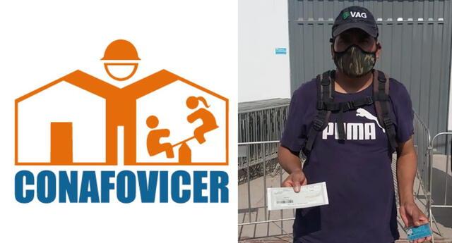 CONAFOVICER bono 2020 link: consulta si eres beneficiario del bono 100 soles para trabajadores de construcción civil en Perú