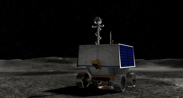 La empresa Astrobotic construirá para la NASA un robot que buscará agua en la Luna